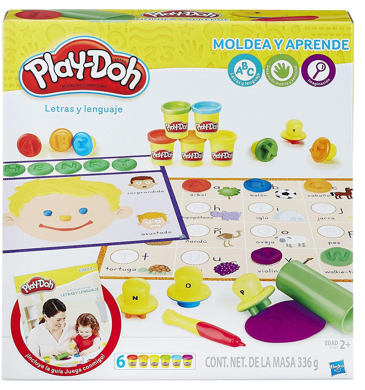 Play Doh Aprendo Letras Y Lenguaje Juegos De Mesa Zacatrus