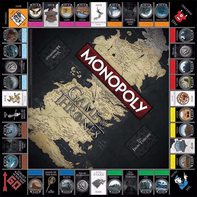 Monopoly Juego De Tronos Juego De Mesa Zacatrus