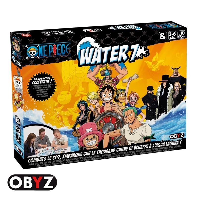 One Piece Board Game Water 7 Juegos De Mesa Zacatrus