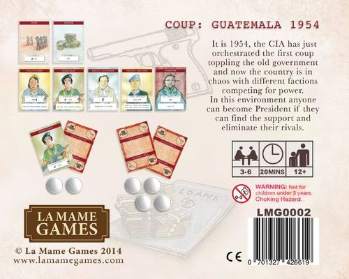Comprar Coup Guatemala