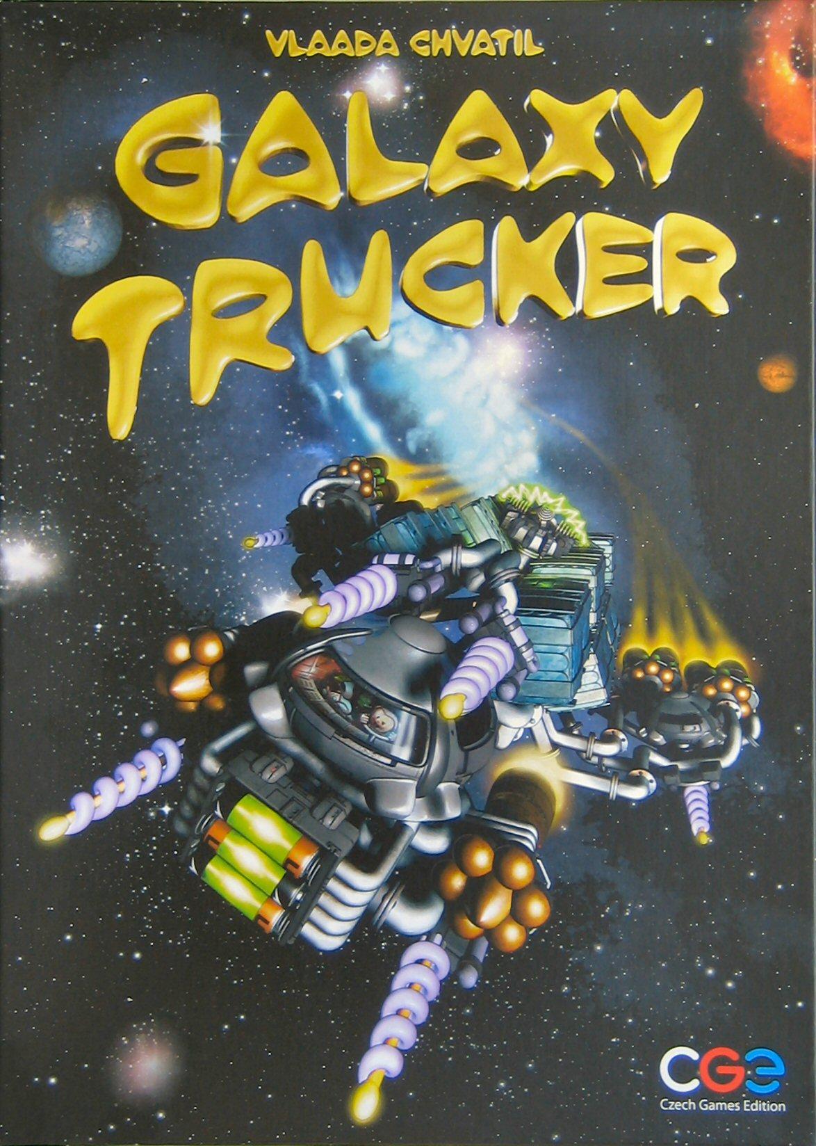 Portada Galaxy Trucker