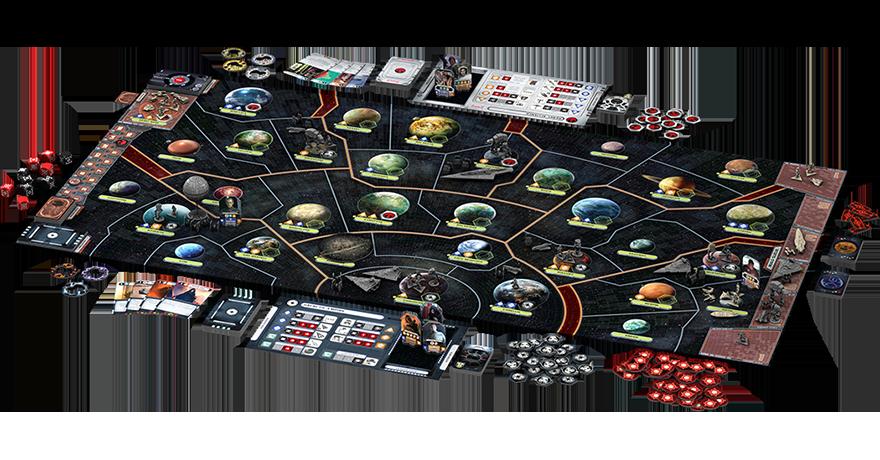Star Wars Rebellion Juegos De Mesa Zacatrus