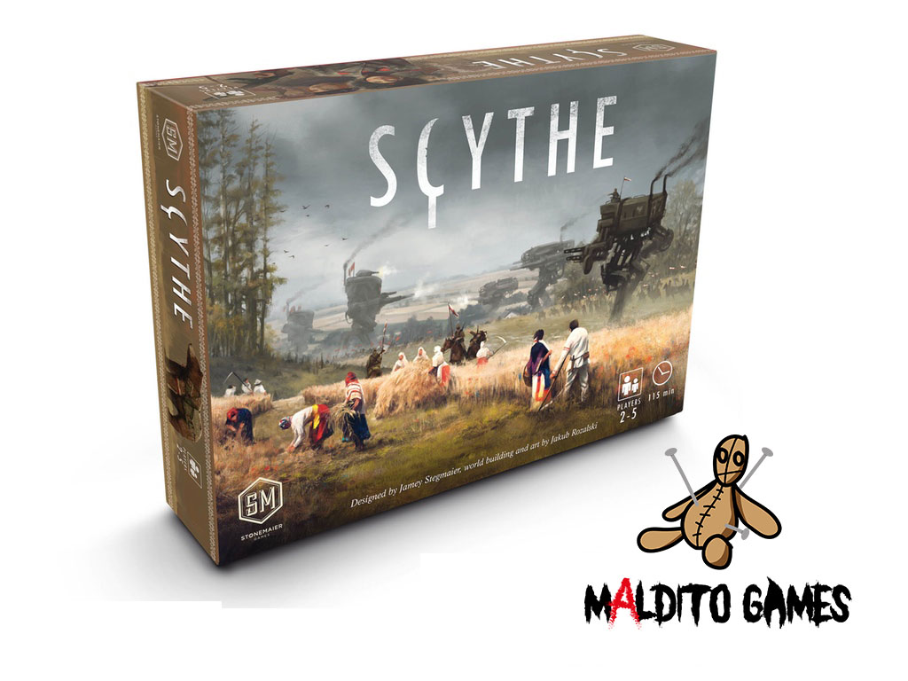 Scythe Juegos De Mesa Zacatrus