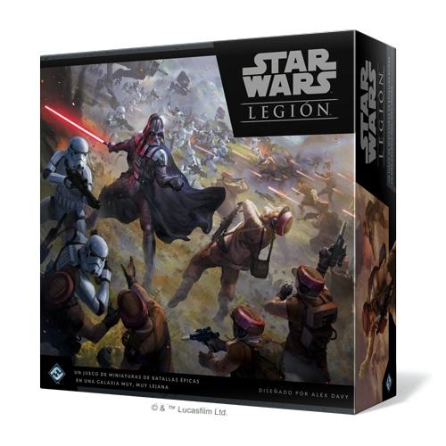 Star Wars Legion Caja Basica Juegos De Mesa Zacatrus