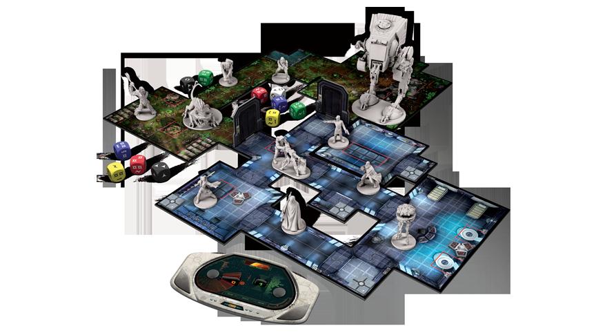 Star Wars Imperial Assault Juego De Mesa Zacatrus