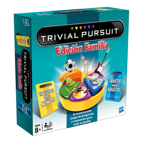 Trivial Pursuit Familia Juego De Mesa Zacatrus