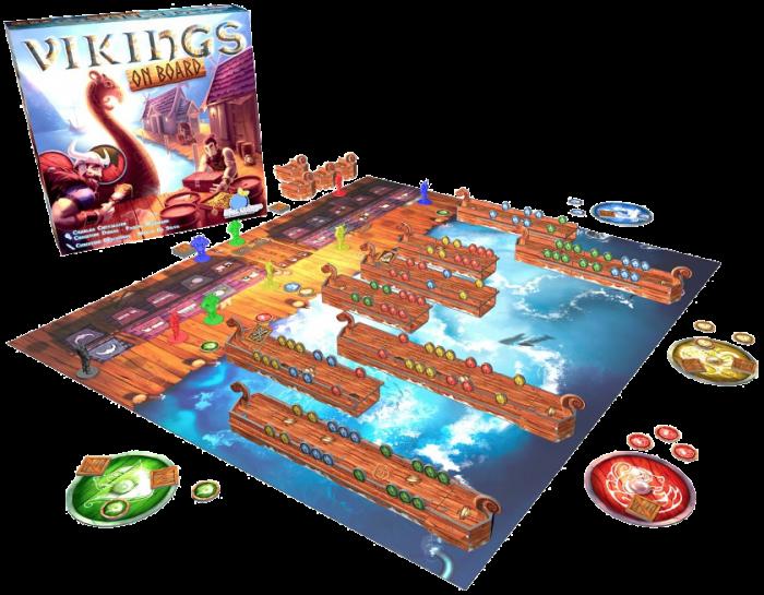 Vikings On Board Juegos De Mesa Zacatrus