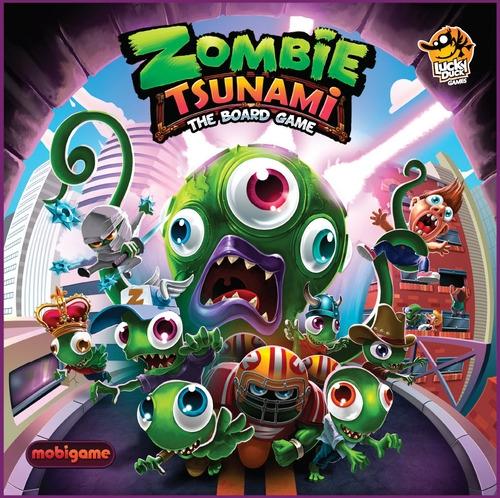 Zombie Tsunami Juegos De Mesa Zacatrus