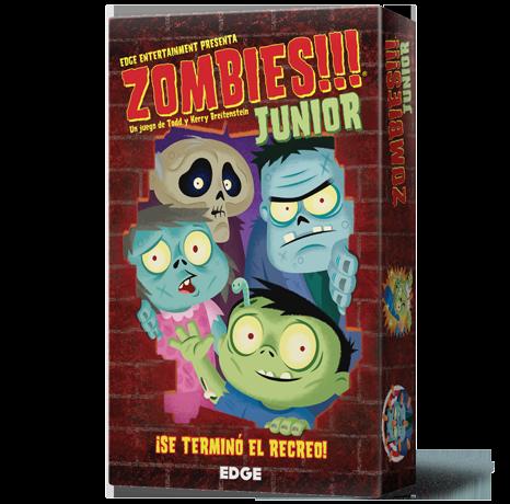 Zombies Junior Juego De Mesa Zacatrus