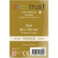 Fundas Zacatrus Dixit premium (80x120mm) (50)