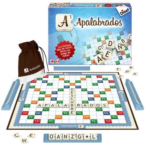 Apalabrados juego de mesa zacatrus for Precio juego scrabble mesa