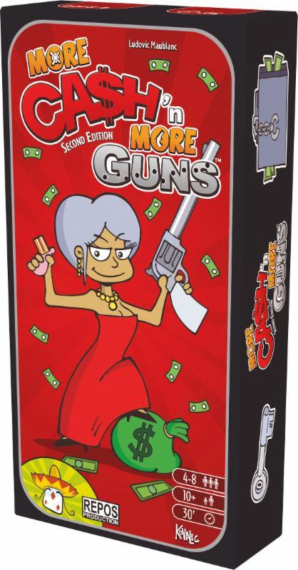 More cash 39 n more guns juego de mesa zacatrus for Juego de mesa cash flow